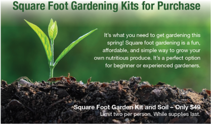 Headline for Sq Ft Garden Page